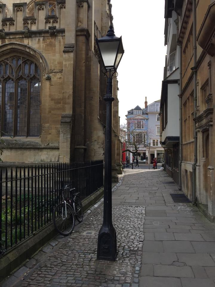 The lamp post from The Lion, the Witch and the Wardrobe.