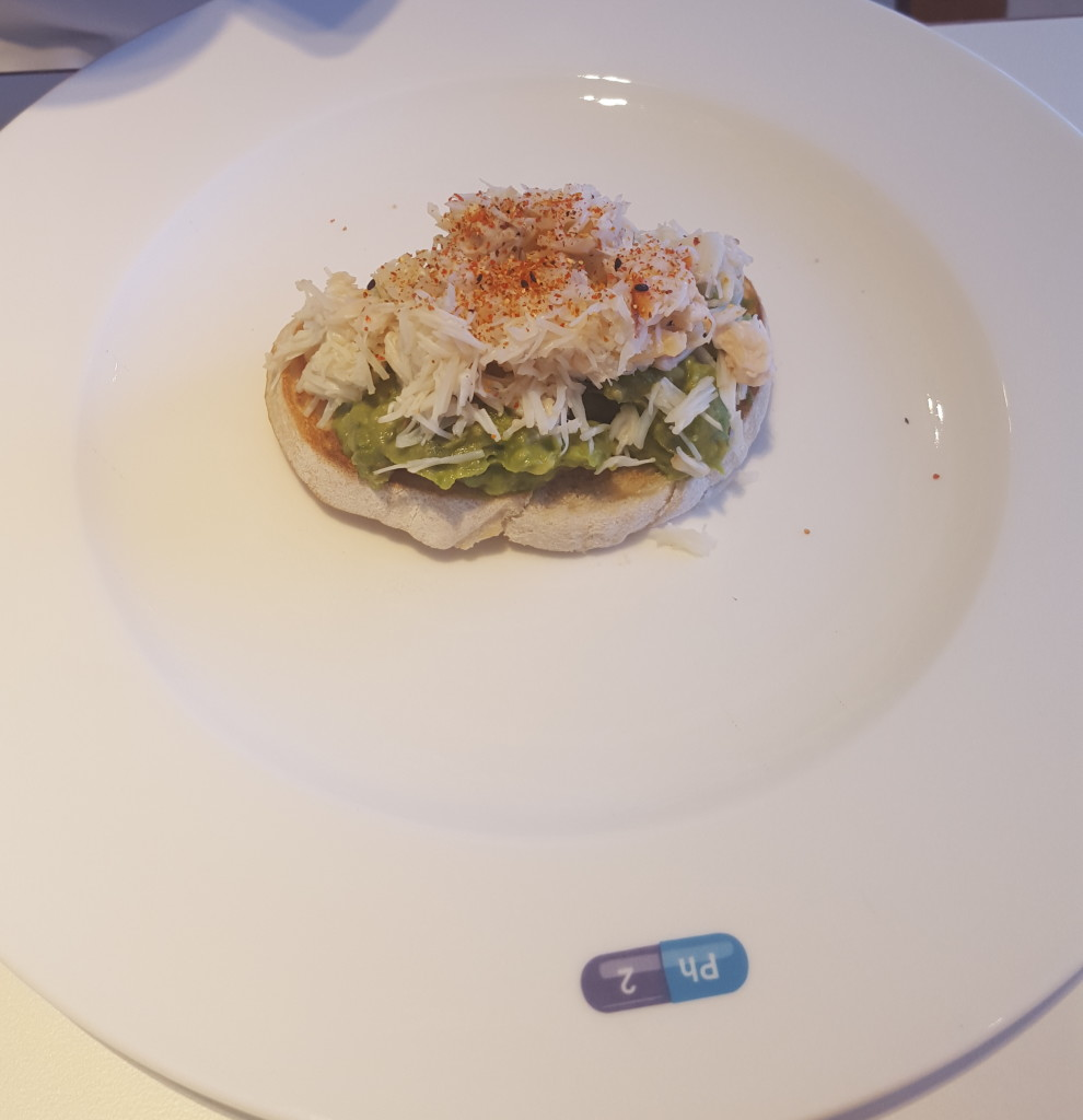 Avo on Toast with Crab